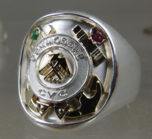 Picture of Corlandt Yacht Club Commadore Ring