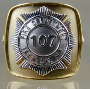 Picture of Firefighter Trenton NJ Rings