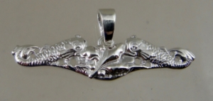 Picture of US Navy Submarine Dolphin Supply Officer  Pendant